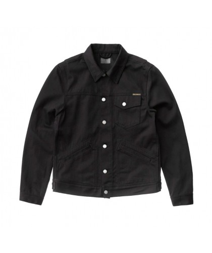 Blouson en jean noir Tommy Dry Black Twill NUDIE JEANS