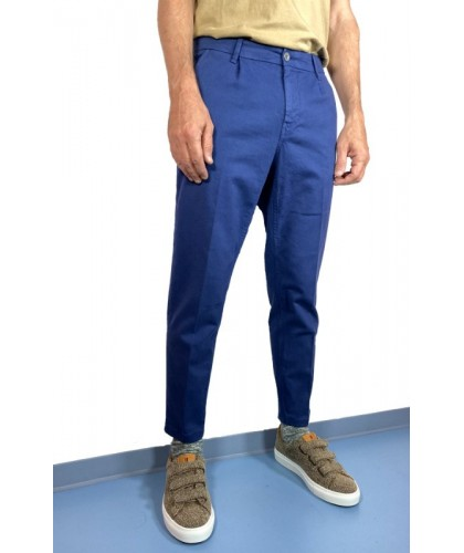 Barcellona Blue Cropped Trousers HAIKURE