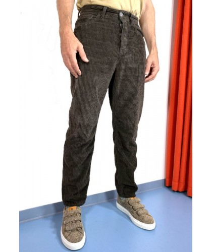 Cracovia Brown Corduroy Trousers HAIKURE