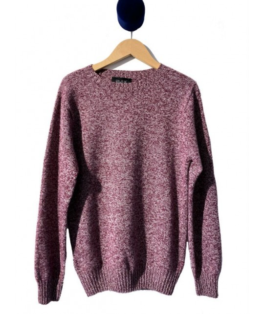 Wave Maker Burgundy Mix Sweater HOWLIN'