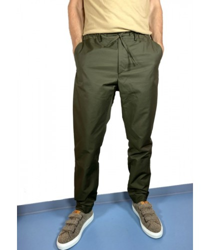 Inverness Olive Water Repellent Trousers KESTIN HARE