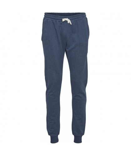 Pantalon de jogging bio bleu KNOWLEDGE COTTON APPAREL