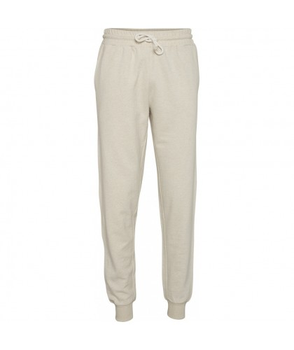Pantalon de jogging bio blanc cassé KNOWLEDGE COTTON APPAREL