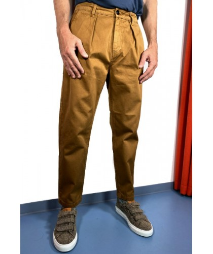 Fairway Twill Camel Trousers COF STUDIO