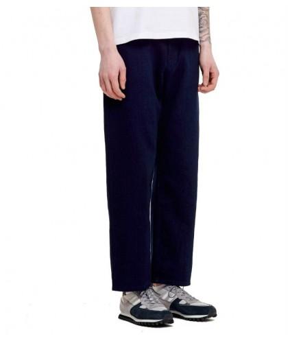 Barnes Straight Japan Indigo Kuroki Trousers LIVID