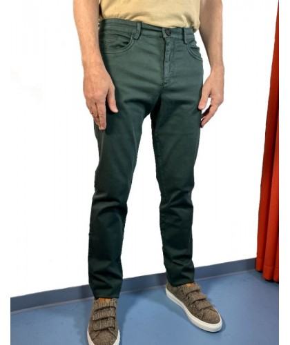 Green organic cotton pants ECOALF