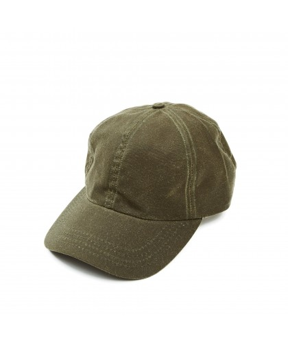 Olive Waxed Cotton Cap...