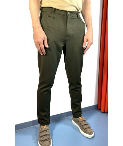 Army Green Recycled Chino...