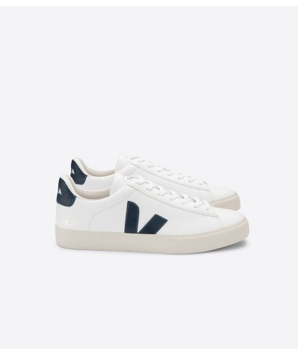 Campo Chromefree Leather White Nautico VEJA