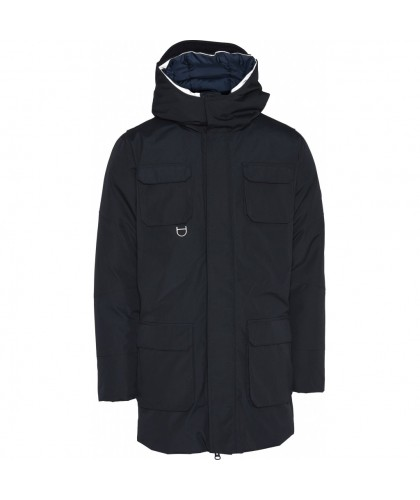 Navy Parka KNOWLEDGE COTTON...