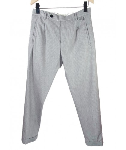 Pantalon Paul Seersucker Coolmax Gris ABCL