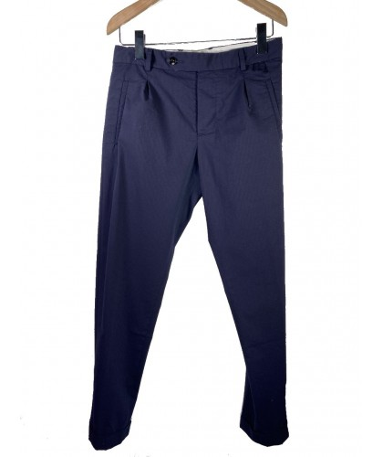 Pantalon Paul Seersucker Coolmax Navy ABCL