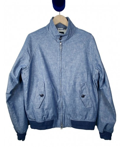 Blouson Harrington Selvedge Chambray Kuroki COF STUDIO