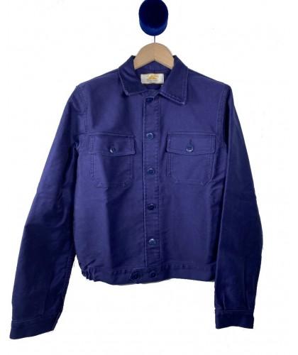 Blue Moleskine Jacket LE...